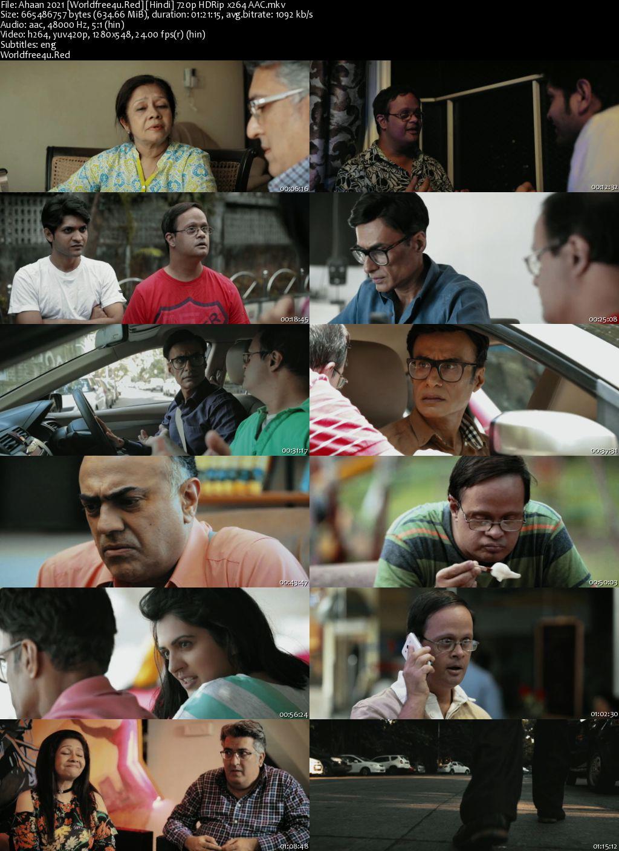 Ahaan 2021 Hindi HDRip 720p ESub