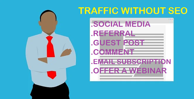traffic without seo