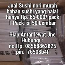 jual seawed nori sushi murah