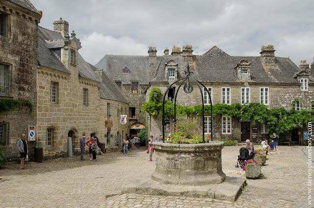 Viaje pueblos mas bonitos Bretaña Normandia diario
