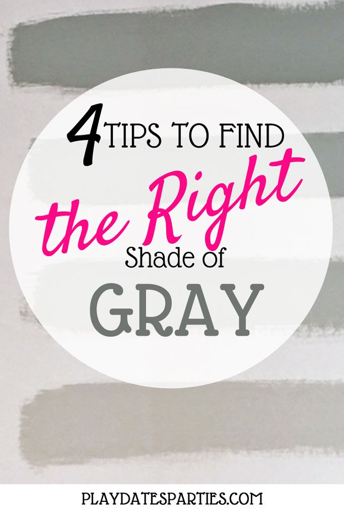choosing the right color gray