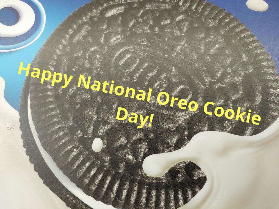 National Oreo Cookie Day Wishes Sweet Images