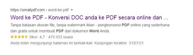 Cara Mengubah Word Ke Pdf Online