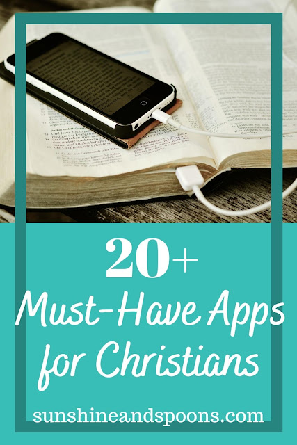 20+ Must Have Apps for Christians