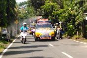 Gerakan Serentak Penyemprotan disinfektan wilayah Kabupaten Purbalingga