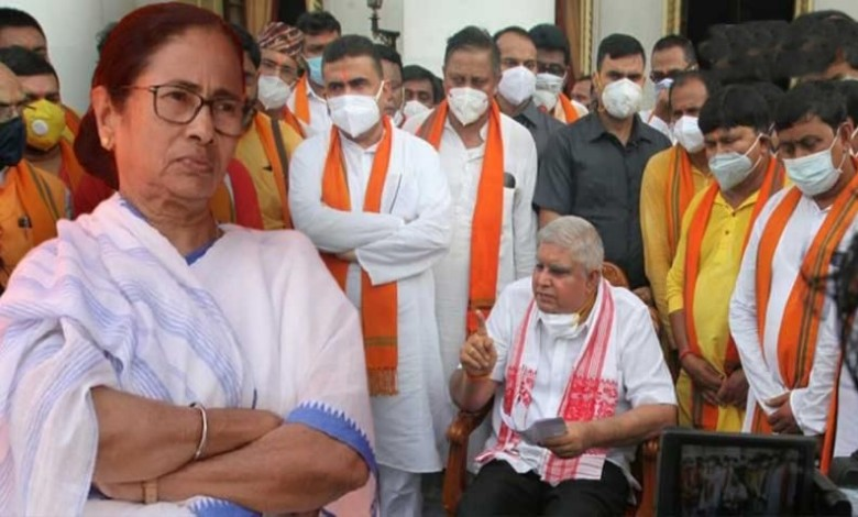 Democracy is not breathing in Bengal Said Governor