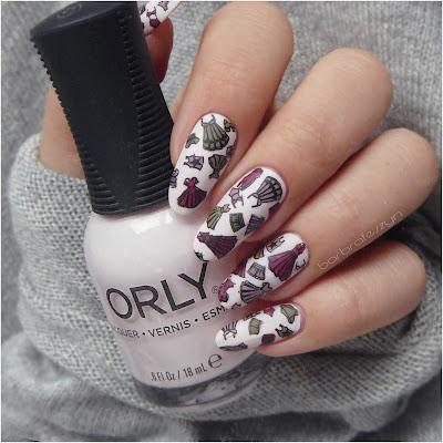 orly pink nail
