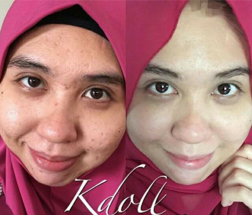 k doll beauty skin halal