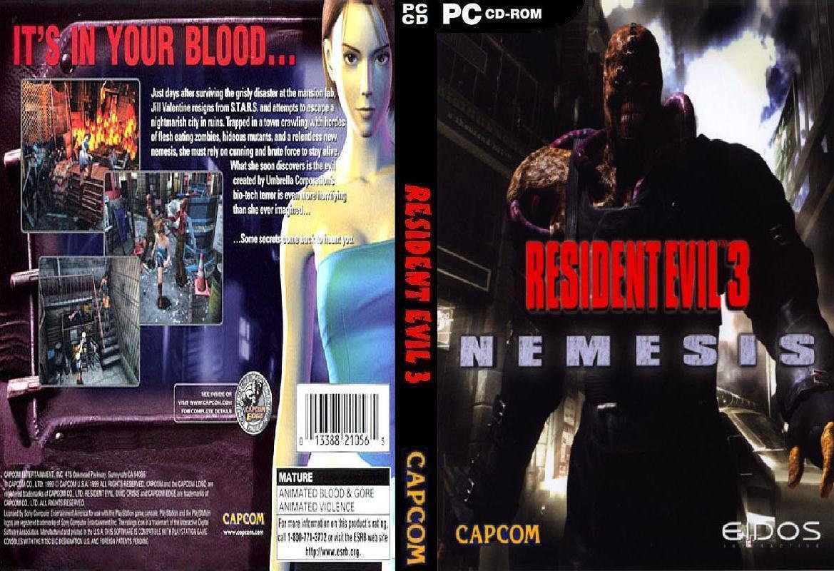 اقوى العاب الرعب Resident evil 3 بحجم 270 مرفوعه على ميديا فاير
