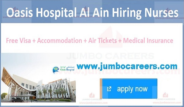 Urgent Hospital jobs in Al Ain,