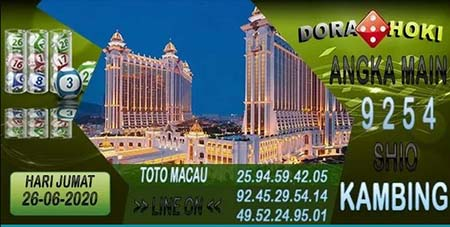 Prediksi Toto Macau Dora Hoki Jumat