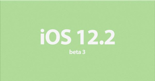 iOS 12-2 Beta 3