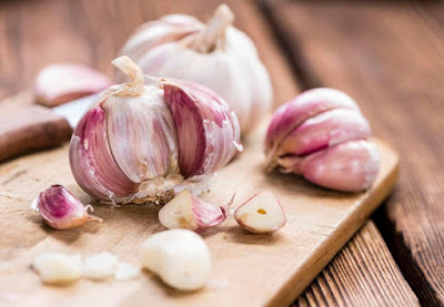 garlic, colds, flu