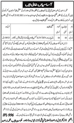 Latest Govt Jobs 2021 Agriculture Department.