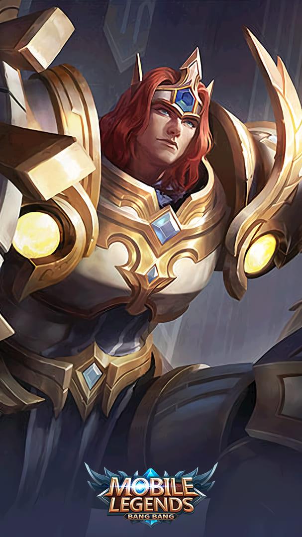 Wallpaper Tigreal Lightborn Defender Skin Mobile Legends HD for Mobile