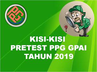 kisi-kisi pretest ppg gpai