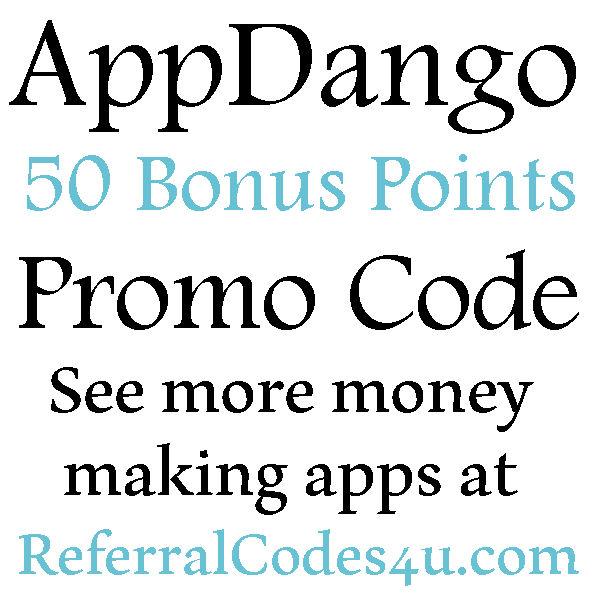 AppDango Promo Code 50 Points Sign up Bonus, AppDango Referral, Appdango Reviews 2020