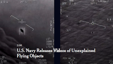 The Military Takes UFOs Seriously, Why Not Silicon Valley or Academia