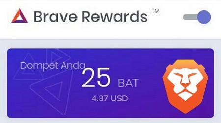 Cara Mendapatkan Uang Dari Brave Browser Airdrop BAT Terbaru