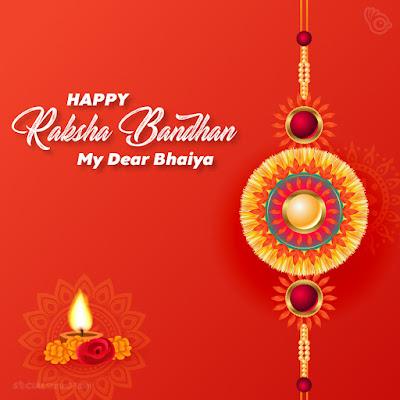 Happy Raksha Bandhan wishes for Brother, Happy Raksha Bandhan my dear bhaiya