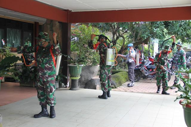 Kodim Sragen - Karya bhakti TNI Polri Sragen Wujud Totalitas Pangabdian
