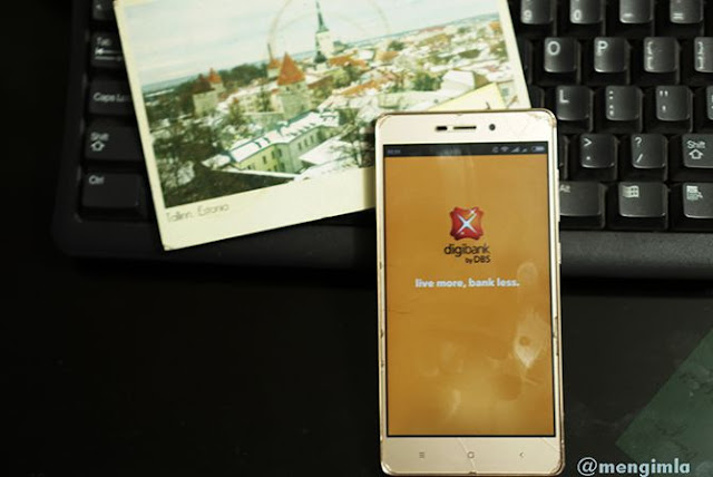 Aplikasi Digibank di gawai