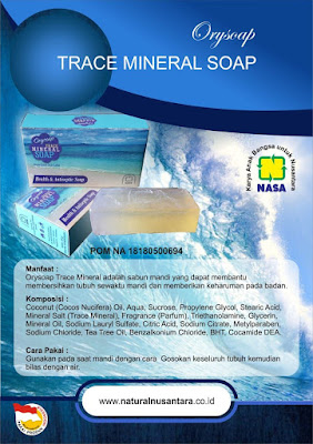 ORYSOAP - Trace Mineral Soap