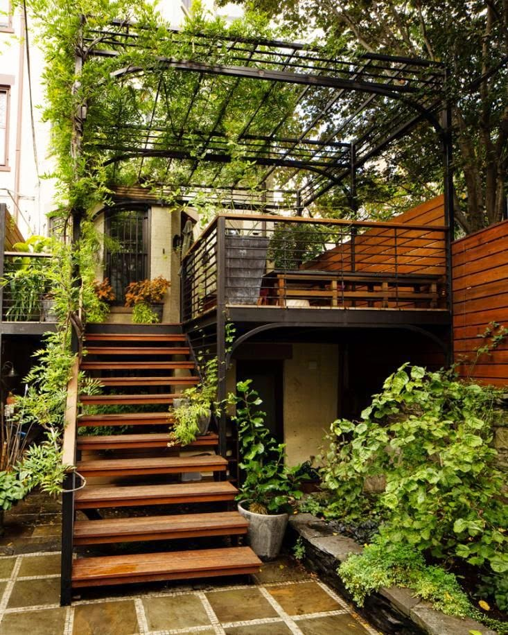 outdoor stairs : designs that heighten the beauty of your ...