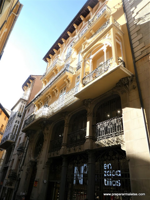 arquitectura modernista en Teruel