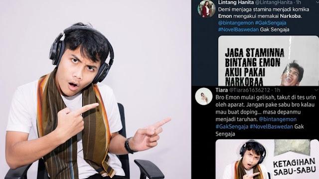 Netizen Minta Akun yang Sebut Bintang Emon Pemakai Sabu Dijerat UU ITE