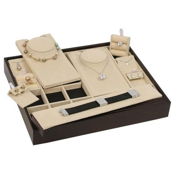 Combination Jewelry Display Set