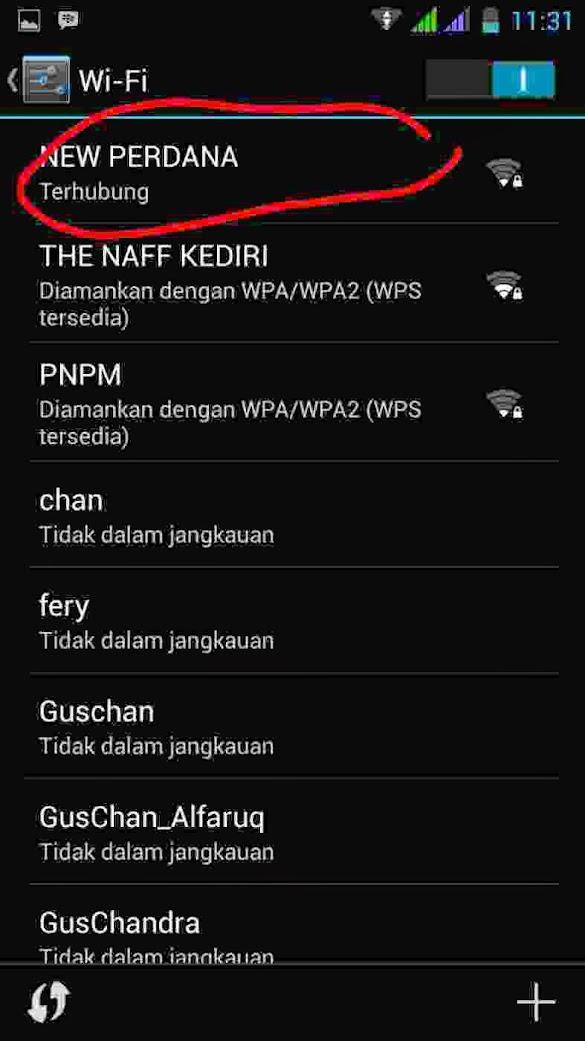 Cara Mengetahui Alamat IP Wifi Yang Terhubung di Hp Android