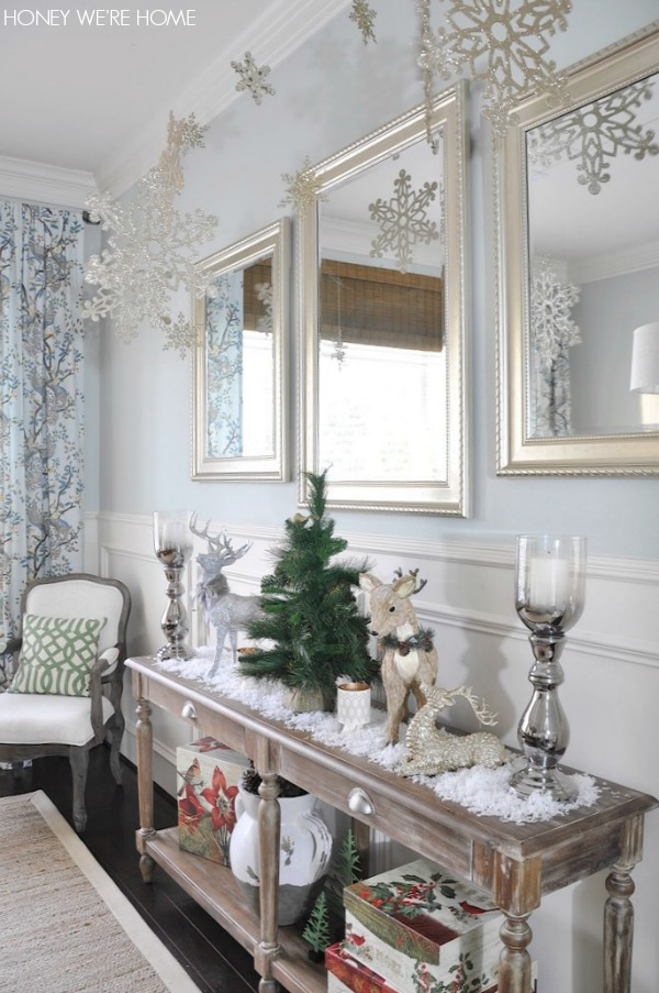 Christmas Decorations For A Hall Table Psoriasisguru Com
