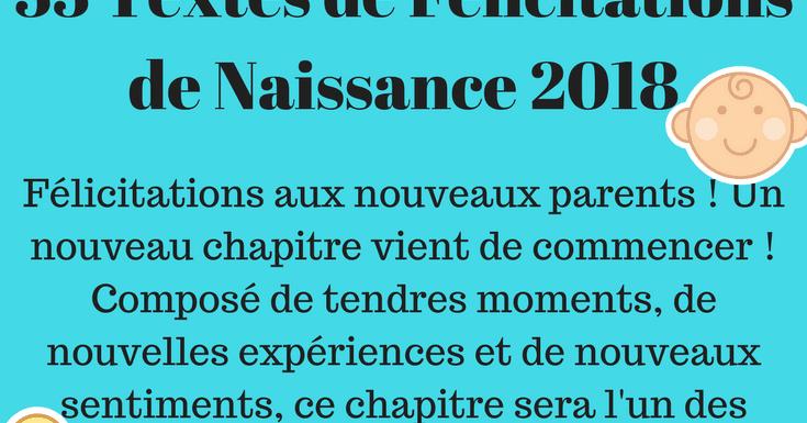 Les 33 Plus Beaux Textes Pour Féliciter Une Naissance 2019