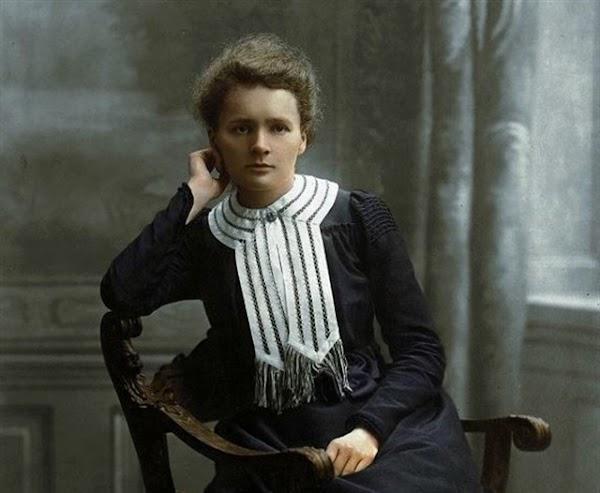 Marie Curie : una mujer entregada a la ciencia.