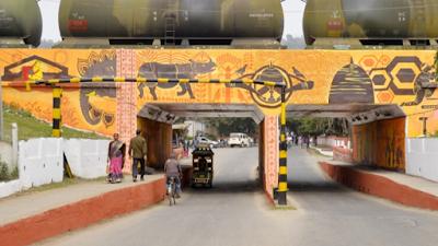 Setu Bharatam Project, Rail Under Bridge