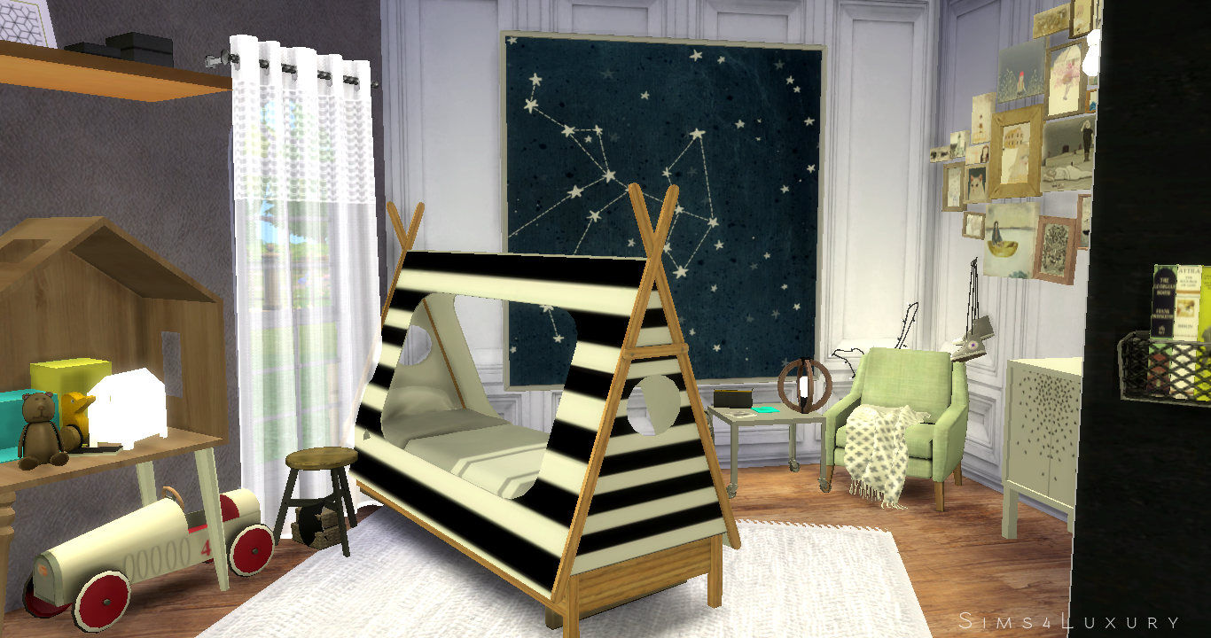 Boy Room Sims4luxury