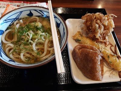 丸亀製麺のかけうどん