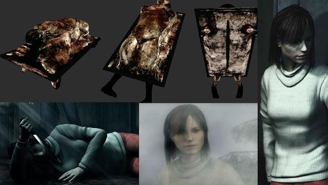 Angela Orosco Abstrac Daddy Papi Abstracto Simbolismo de monstruos de SIlent Hill 2