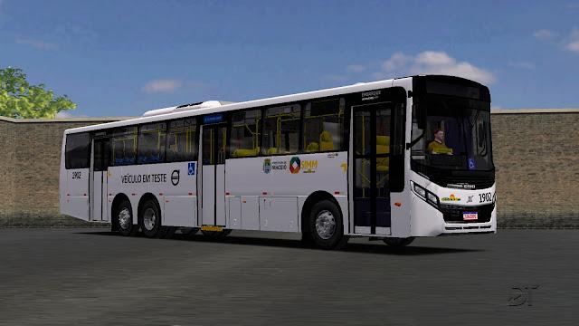 OMSI 2 - Pintura de testes da Volvo para o Caio Apache VIP IV BRT B270F 6×2