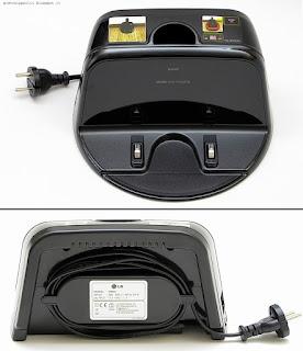 LG Hom-Bot Square VR64703LVM, base di ricarica