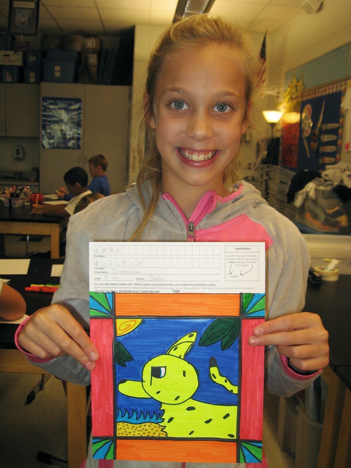Jamestown Elementary Art Blog Square 1 Art