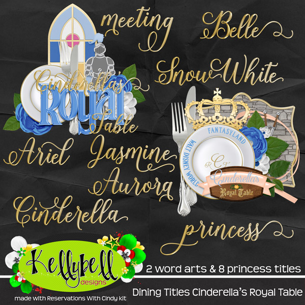 The River Road Girl: Dining Titles and Quickpages from Kellybell Designs