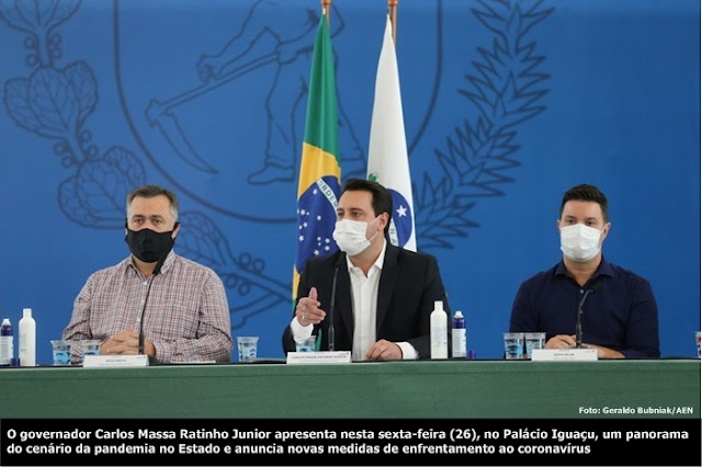 Governo decreta fechamento de atividades não essenciais para conter a Covid-19