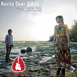 Lirik dan chord Hingga Menutup Mata - Novita Dewi & Alex Rudiart