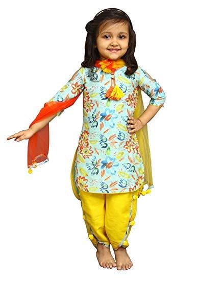 Cute Baby Girls in Salwar Suits