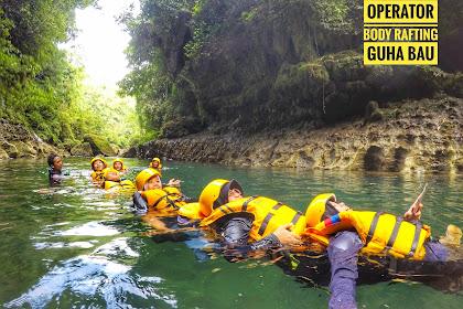 Backpakeran ke Pangandaran | Operator Body Rafting Guha Bau