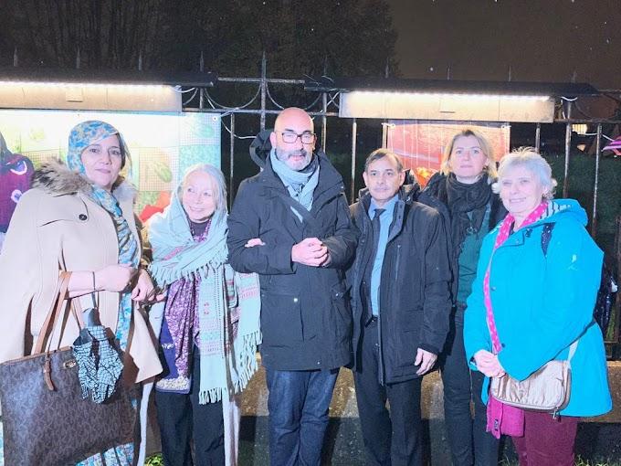 إيڤري سور سان : انطلاق فعاليات الأسبوع الدولي للتضامن بإفتتاح معرض صور حول كفاح وصمود الشعب الصحراوي.