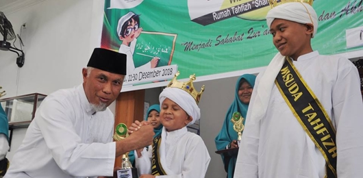 "Wako Mahyeldi Apresiasi Rumah Tahfiz ""Shahibul Quran"" Ar Rahmah"