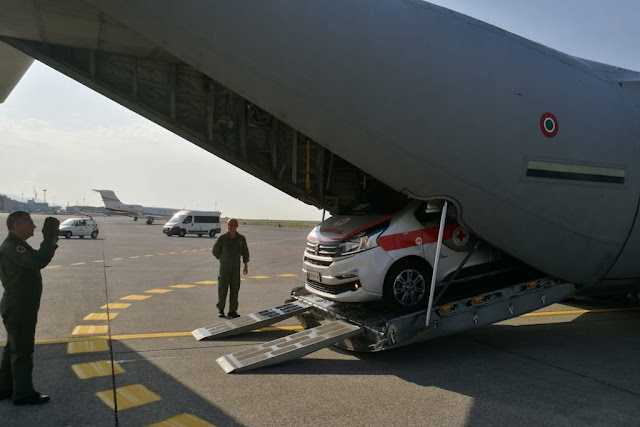 Trasporto organi Aeronautica 46 Brigata